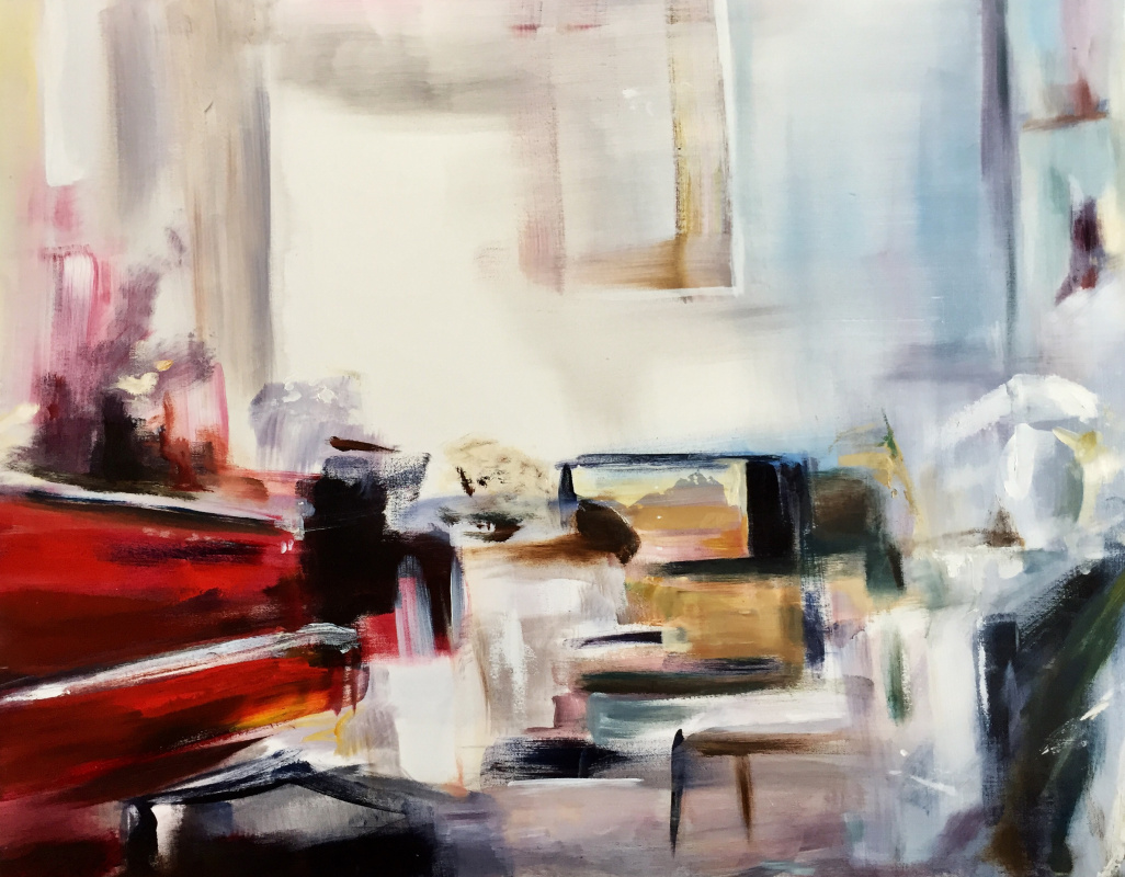 Robert Hettich. Red piano