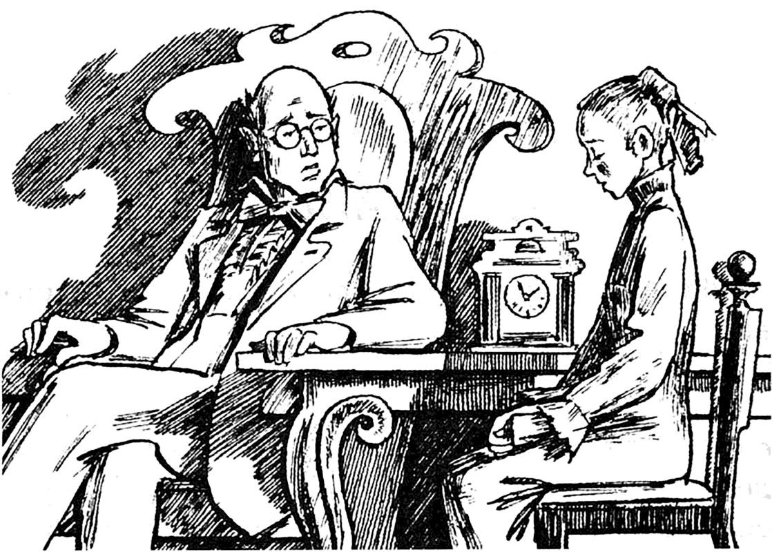 Alexander Vasilievich Kuzmin. Smear. A.P. Chekhov.