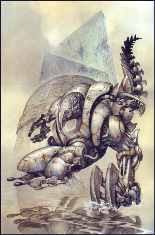 Рауль Крус. Робот