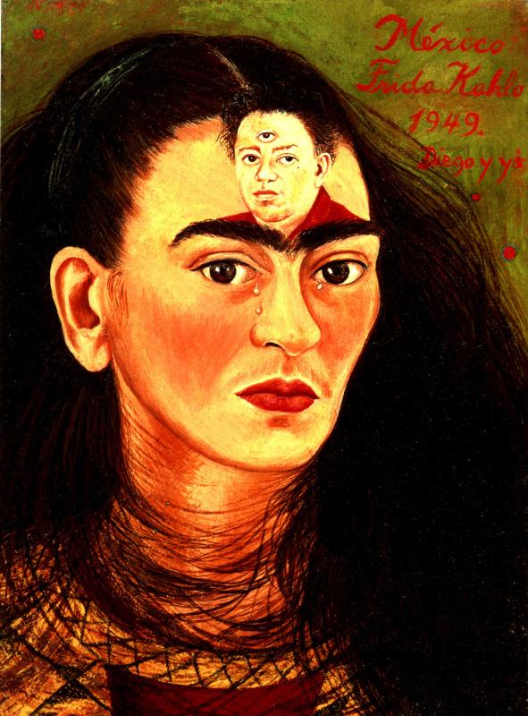 Frida Kahlo. Diego and I