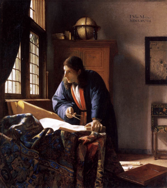 Jan Vermeer. Geographer