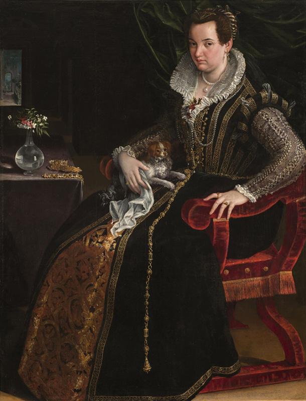 Lavinia Fontana. Portrait of Costanza Alidosi