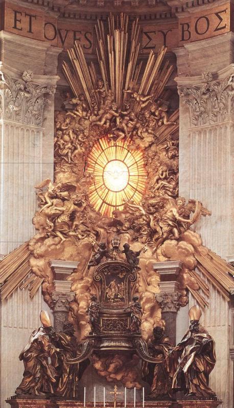 Джованни Лоренцо Бернини. Трон Святого Петра