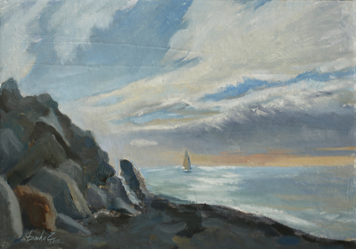 Tanika Yezhova. Lonely sail