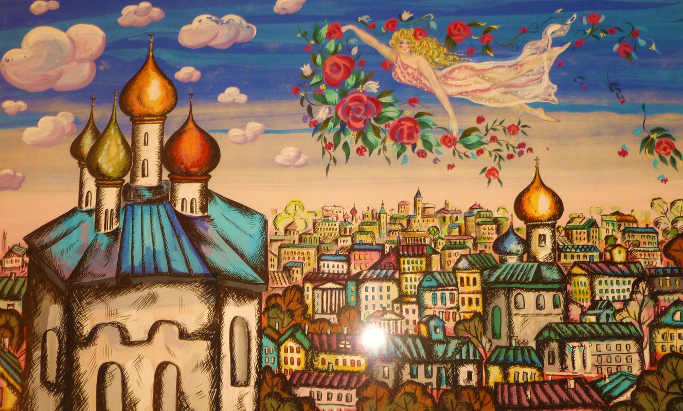 Valentin Georgievich Savchuk. Hovering over the city
