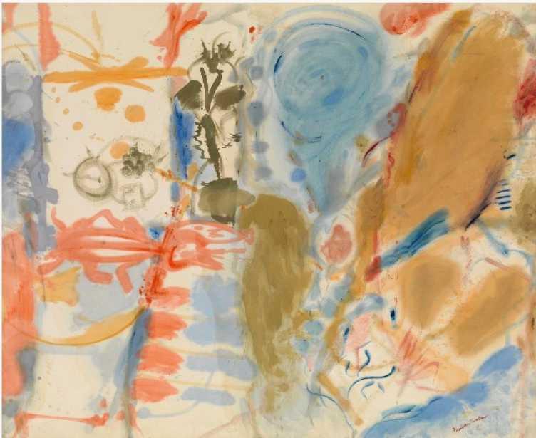 Helen Frankentaler. Western dream