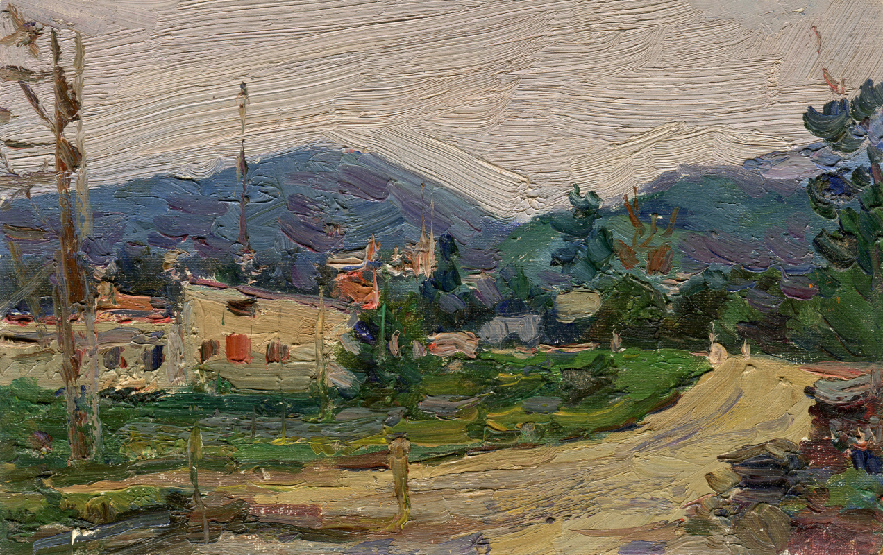 Vasily Fadeevich Demin. Tuvan sketch