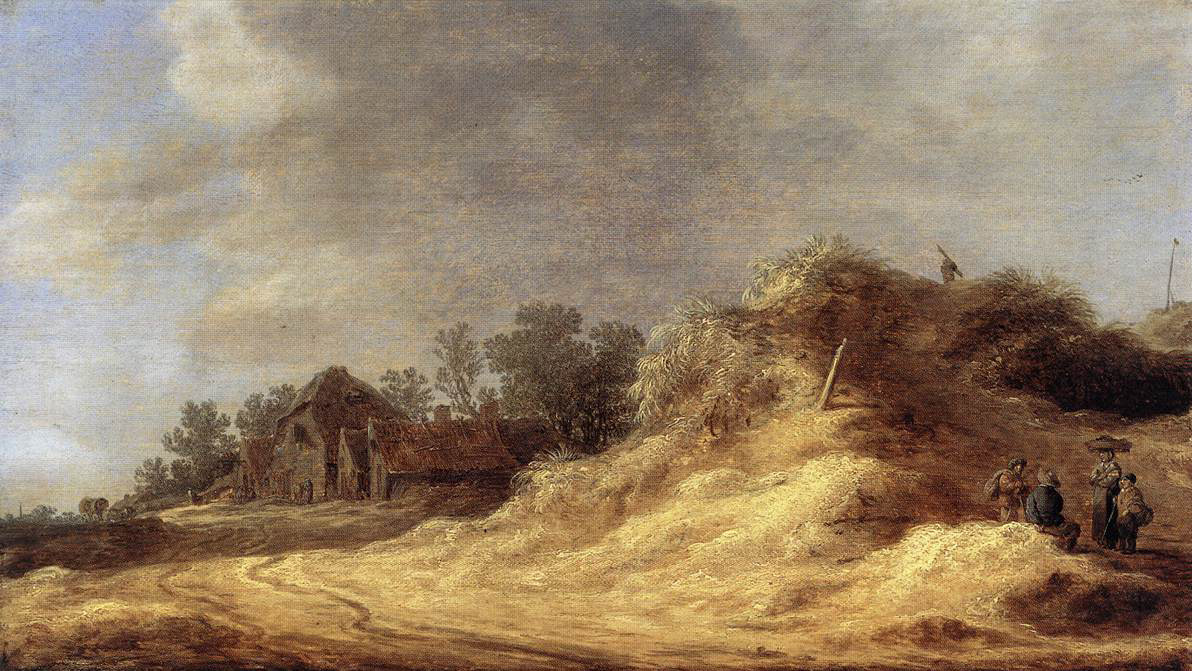 Jan van Goyen. Dunes