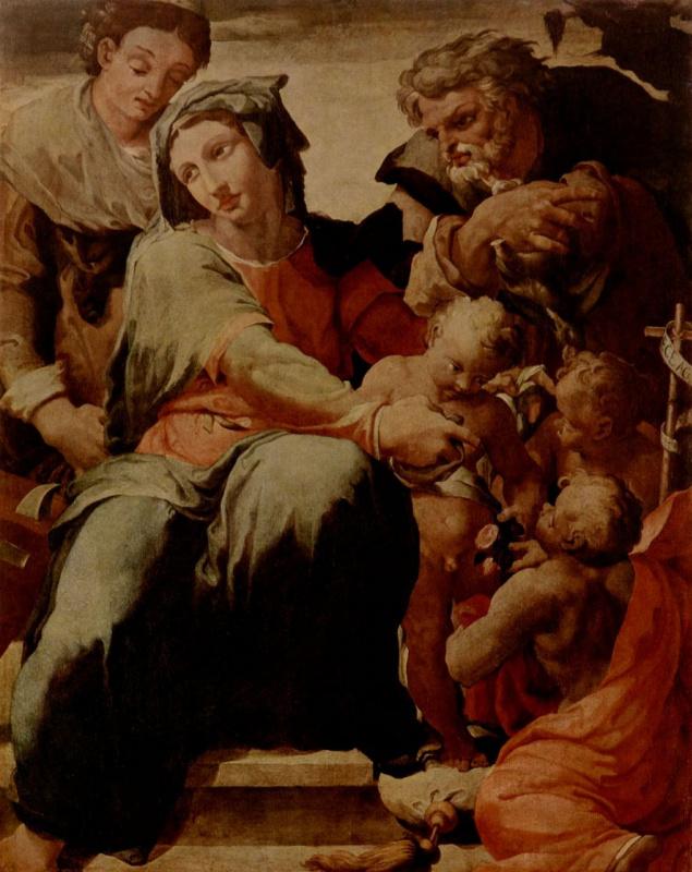 Пеллегрино Тибальди. Святое семейство