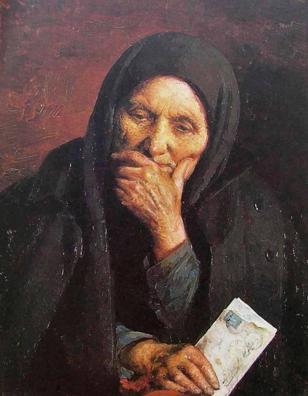 "Image result for Иегуда Пэн. ""Письмо из Америки"",1903 г"