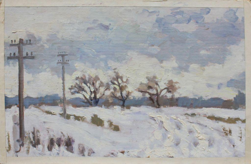 Eugene Mikhailovich Emelyanov. Winter