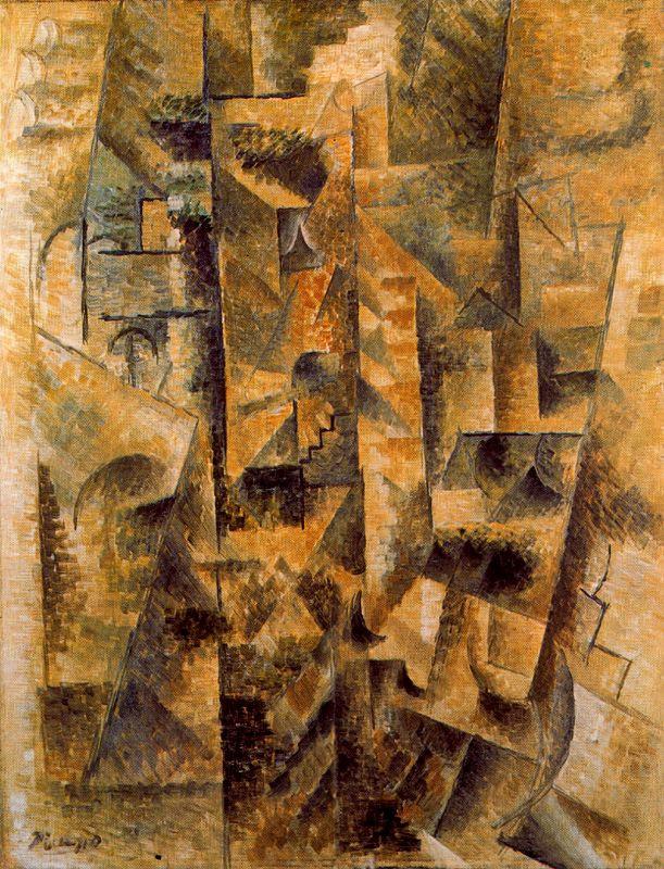Пабло Пикассо. Пейзаж Сере