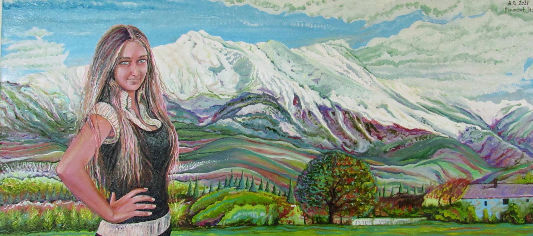 Andrii Herhelezhyu. Piemont