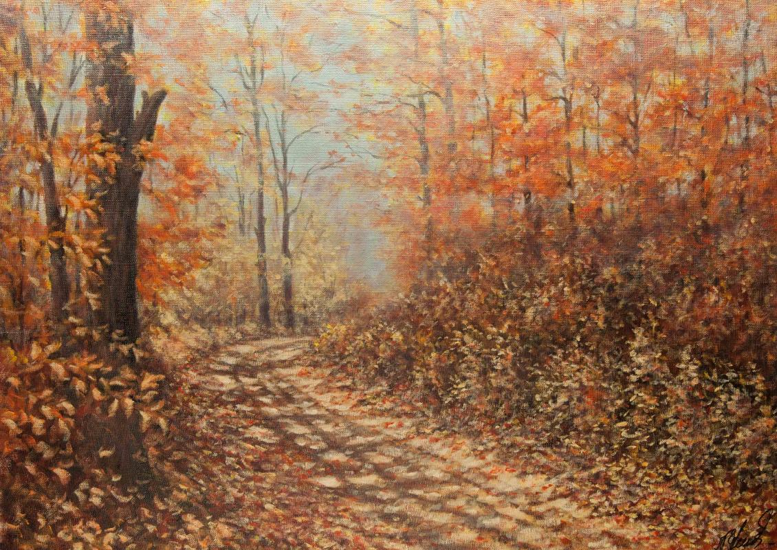 Valery Levchenko. No. 188 Leaf Fall