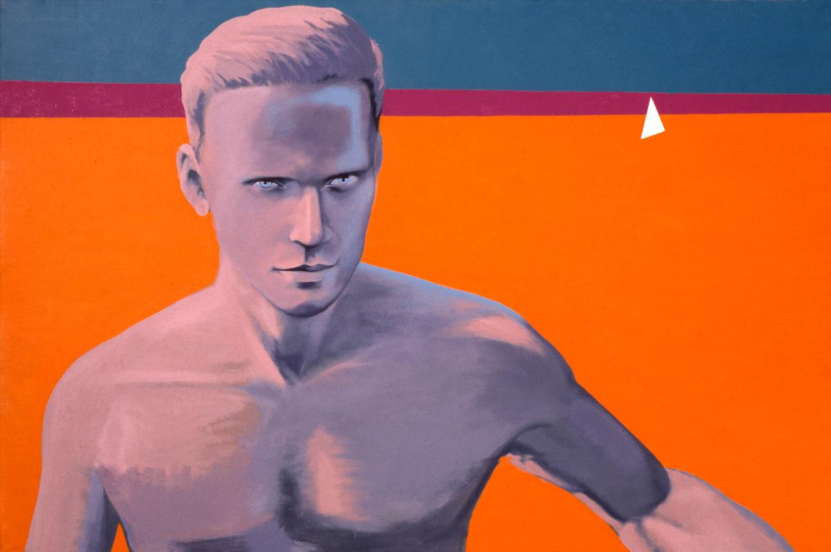 George Guryanov. Self-portrait