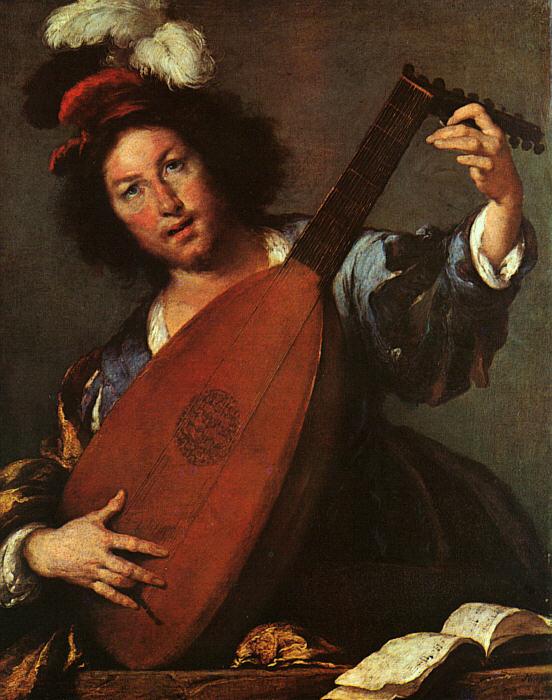 Бернардо Строцци. Музыкант