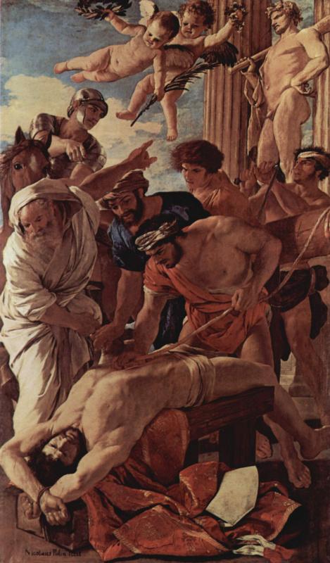 Nicola Poussin. The martyrdom of St. Erasmus