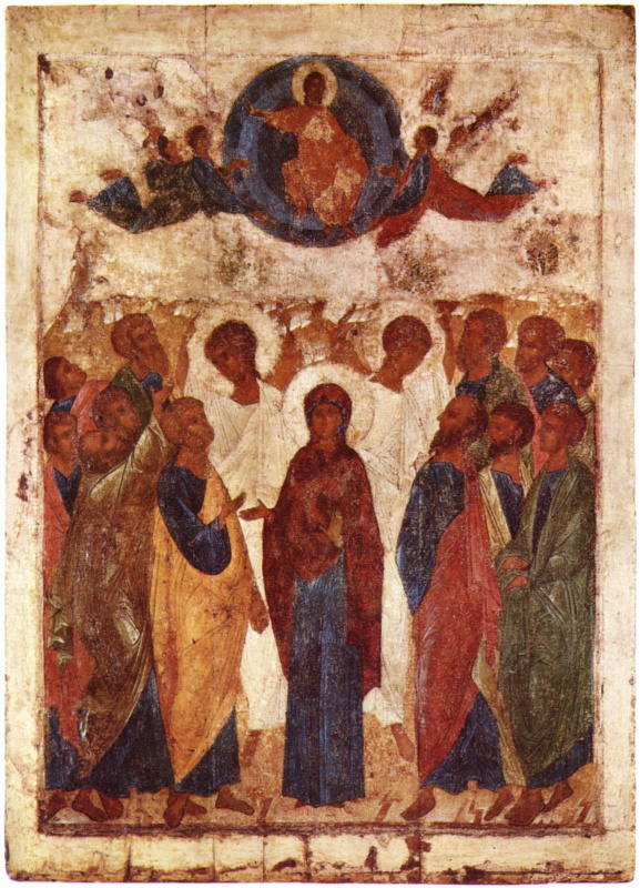 Andrei Rublev. The Ascension Of Christ