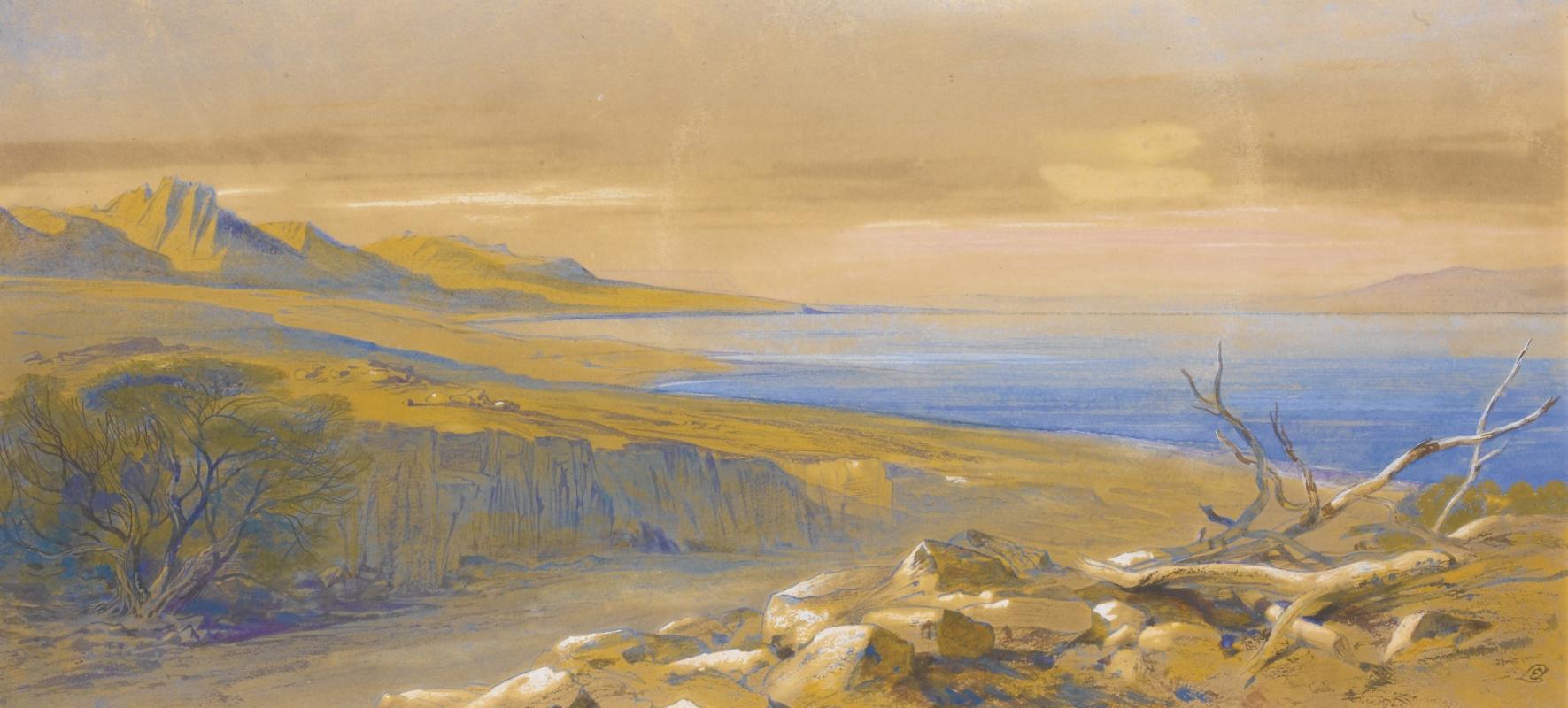 Эдвард Лир. Dead Sea, Jordan
