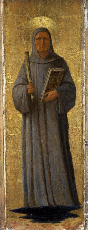 Fra Beato Angelico. Saint Bernard Klervosky. Pilaster altar of the monastery of San Marco