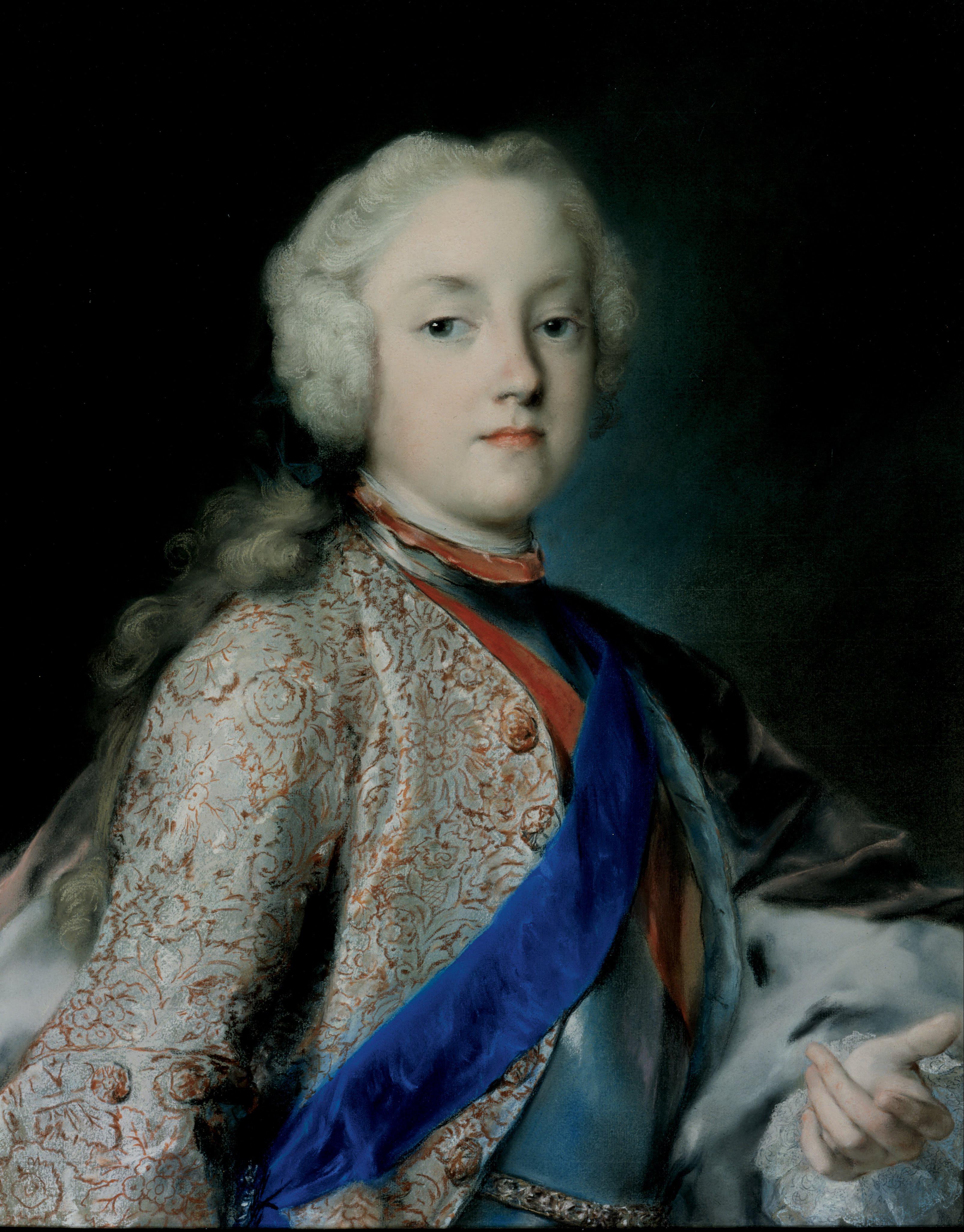 Розальба Каррьера (Каррера). Наследный принц Саксонии Фридрих Кристиан (1722-1763)