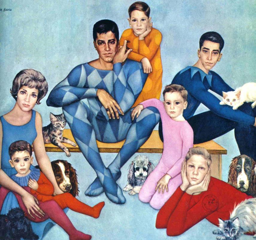 Маргарет Кин. Большая семья