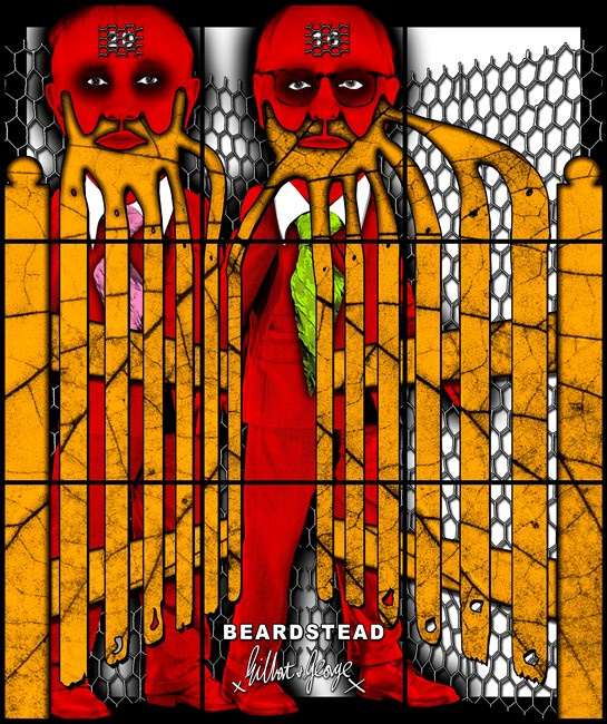 Gilbert & George. Little beard