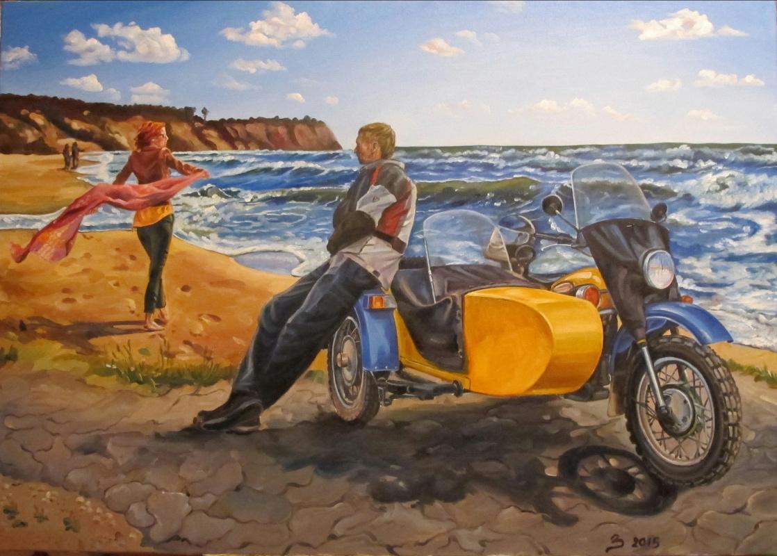 Dariya Zakharova. By the sea