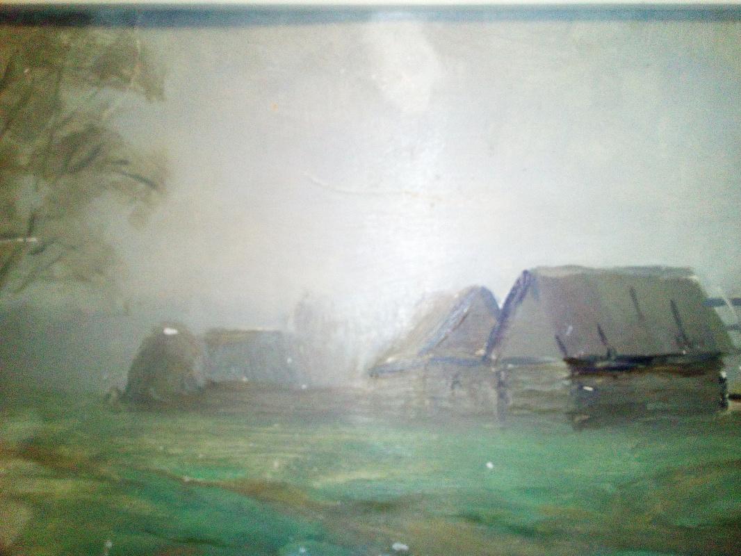 Boris Nikolaevich Loshkarev. Morning fog