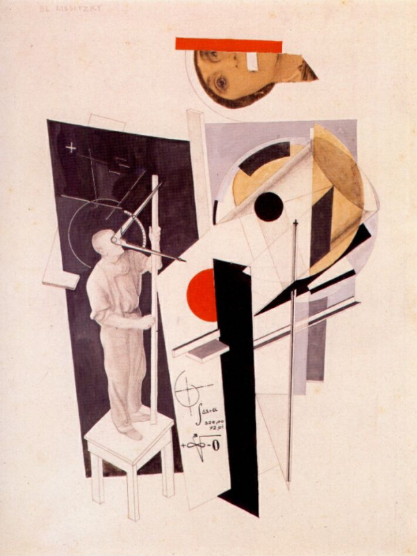 El Lissitzky. Tatlin at work