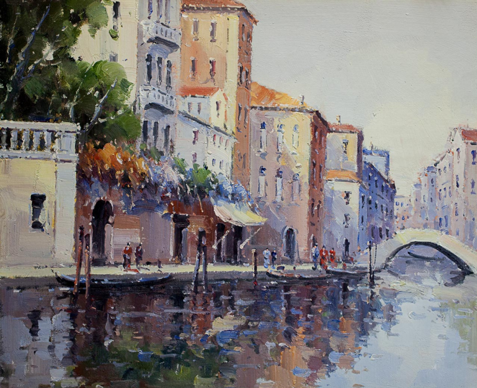 Андрей Шарабарин. Сны о Венеции N7