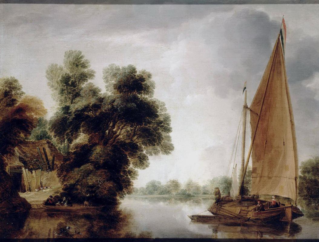 Гиллис Петерс. Вид на реке