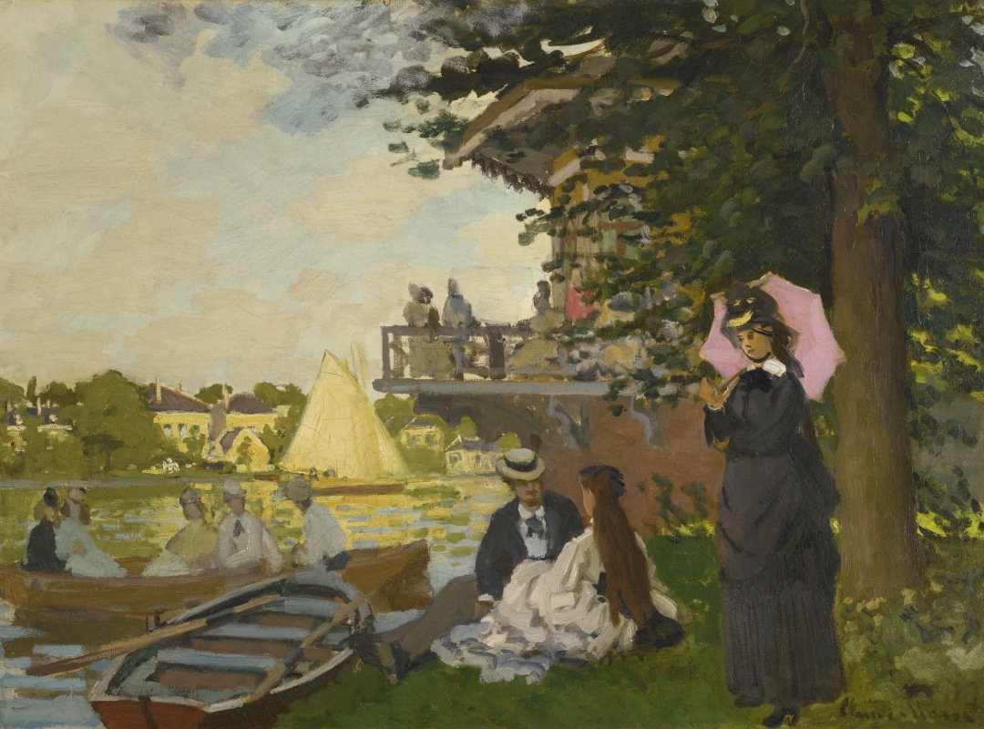 Claude Monet. Pier