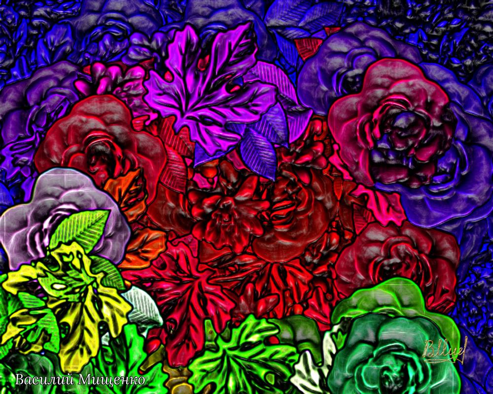 Vasiliy Mishchenko. Flowers 036