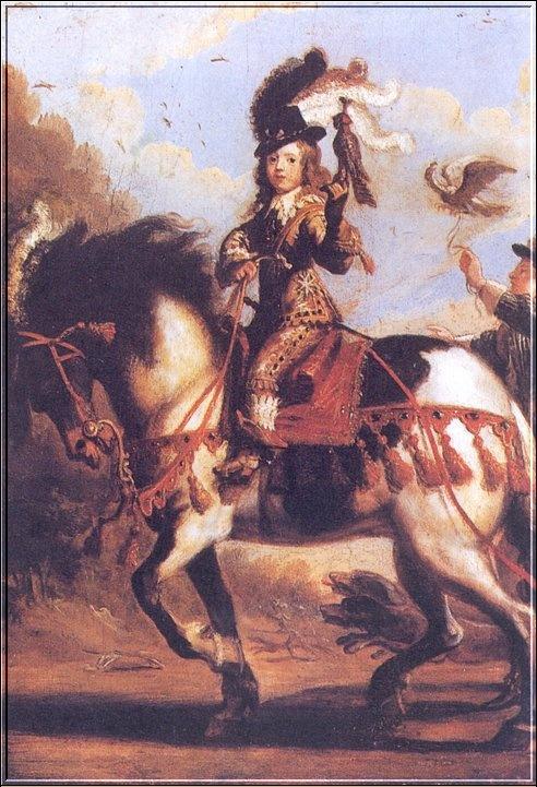 Дж Де Саинт-Йгну. Портрет Людовика XIV