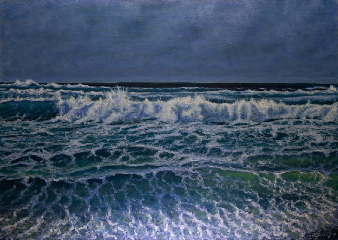Valery Levchenko. № 602  Морской пейзаж.