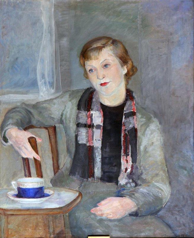 Sergey Alexeyevich Luchishkin. Female portrait