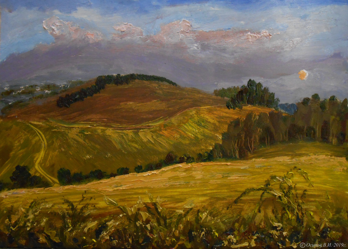 Владимир Иванович Осипов. Russian fields