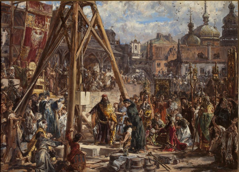 Ян Матейко. Повторное завоевание Руси в 1366 году. Богатство и наука