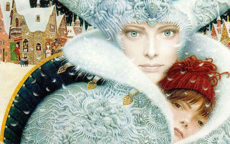 Vladislav Yerko. The snow Queen