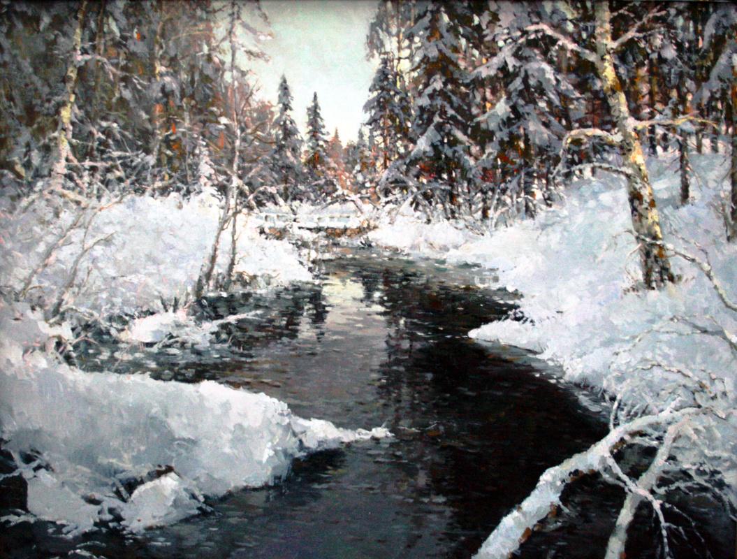 Alexander Markovich Kremer. Black River