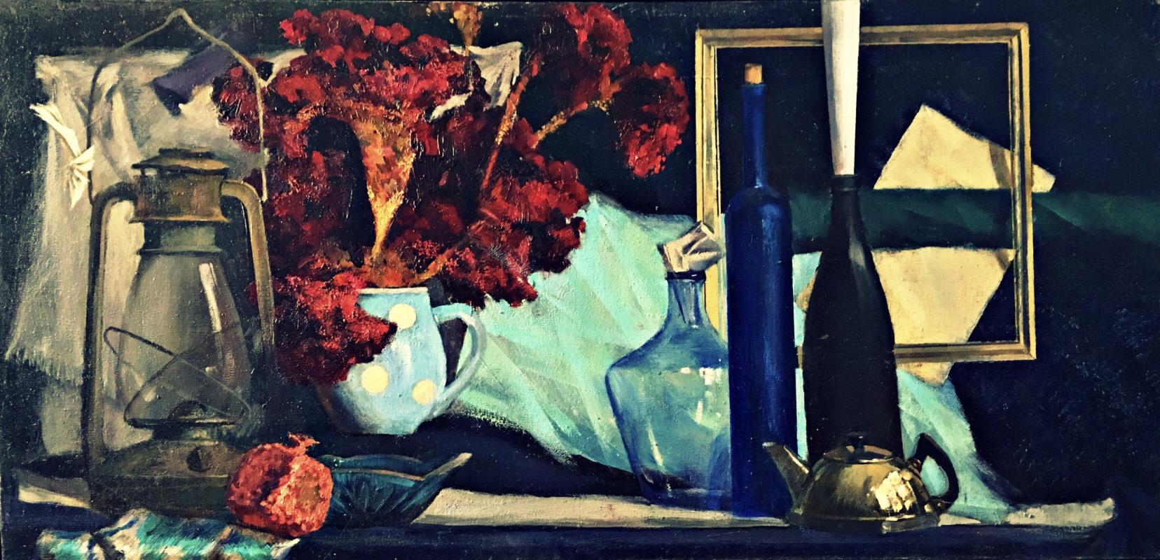"Уктам Махмудович Исиргапов. «blue still life"""