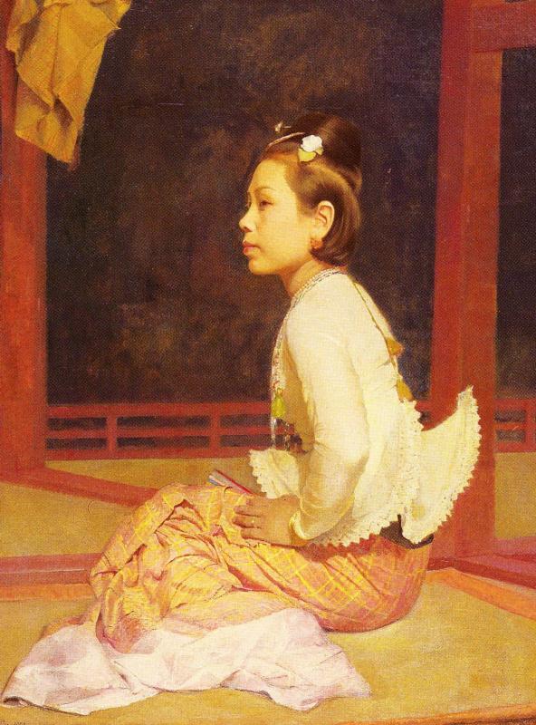 Джеральд Келли. Портрет молодой женщины