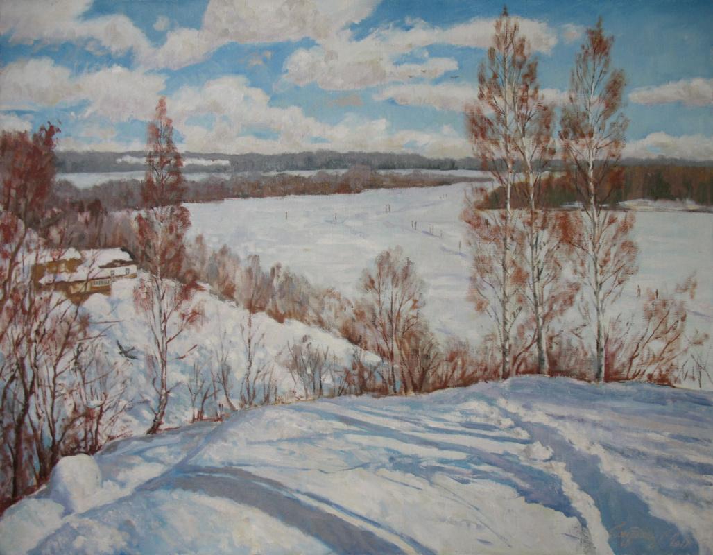 Alexander Nikolaevich Bezrodny. Frost and elephant