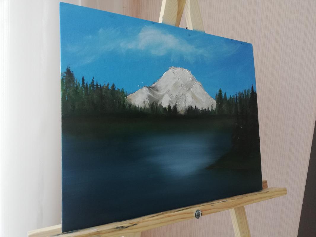 Unknown artist. Mountain landscape
