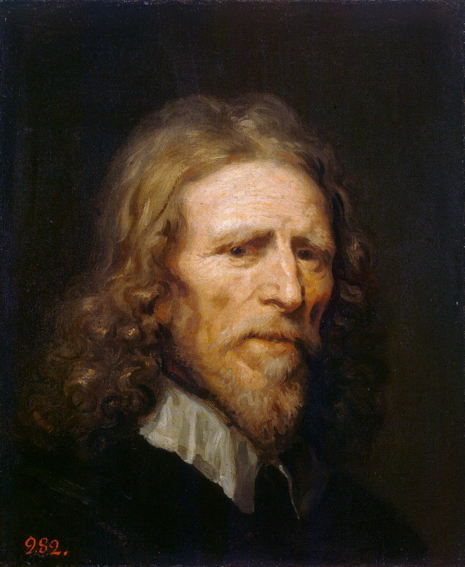 William Dobson. Portrait of Abraham van der Dort