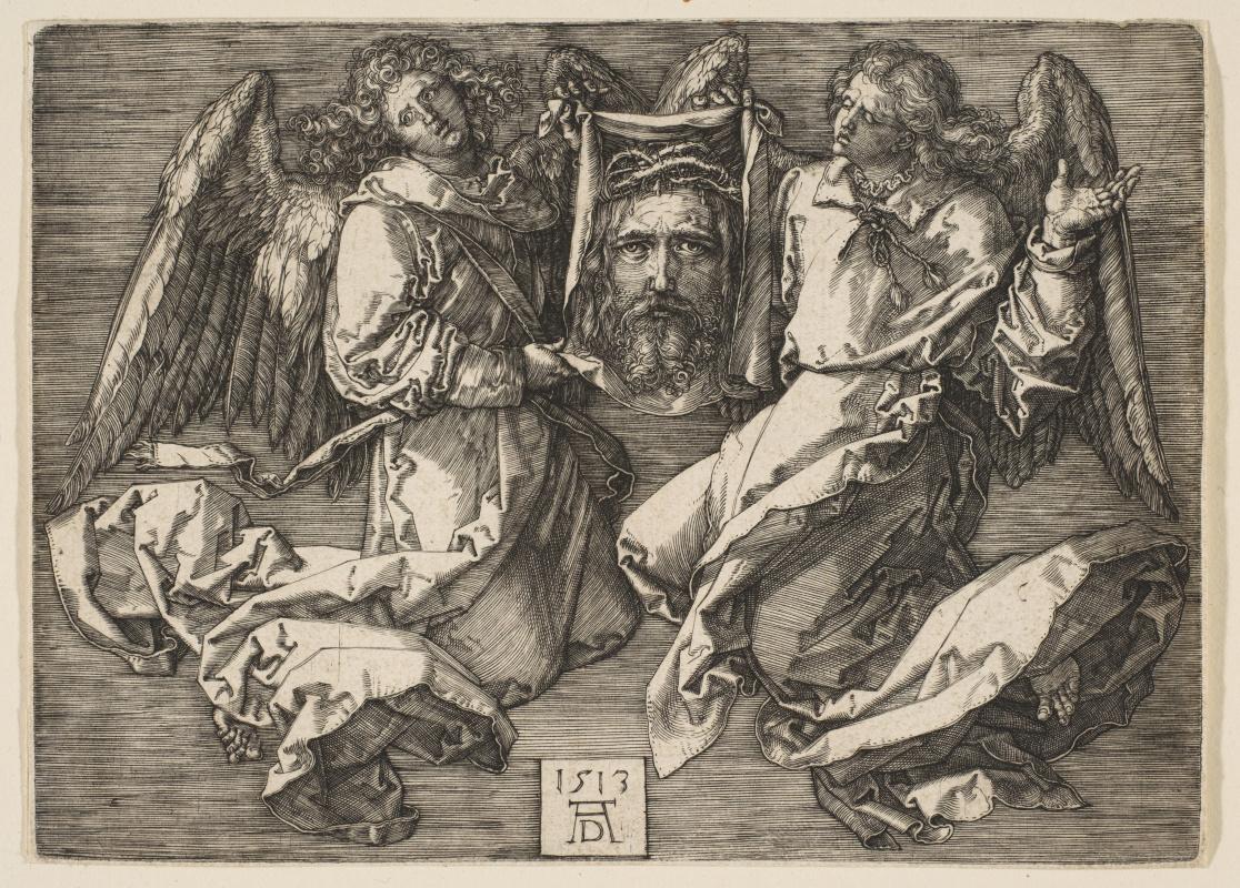 Альбрехт Дюрер. Судариум, который держат два ангела