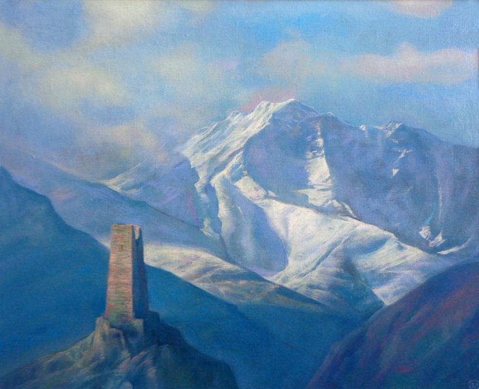 Vadim Enverovich Pukhaev. Mountain landscape