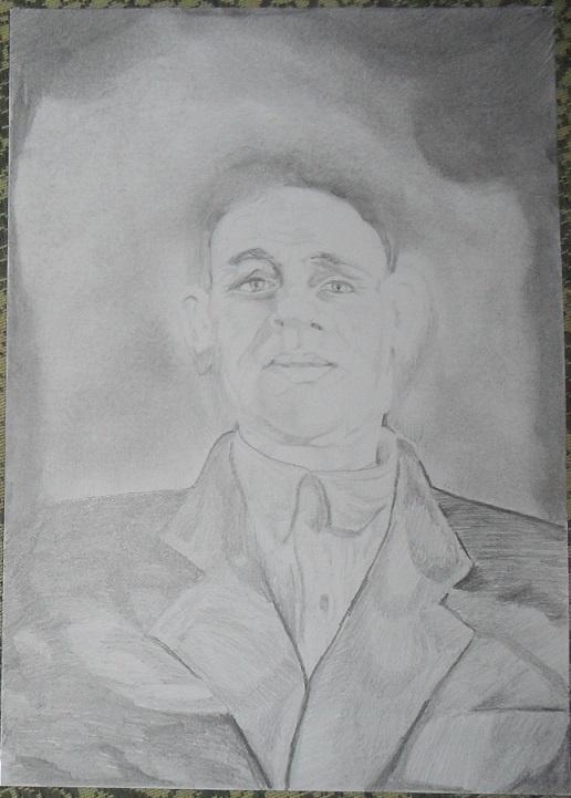 Василий Береговой. Портрет дедушки Йосыпа.