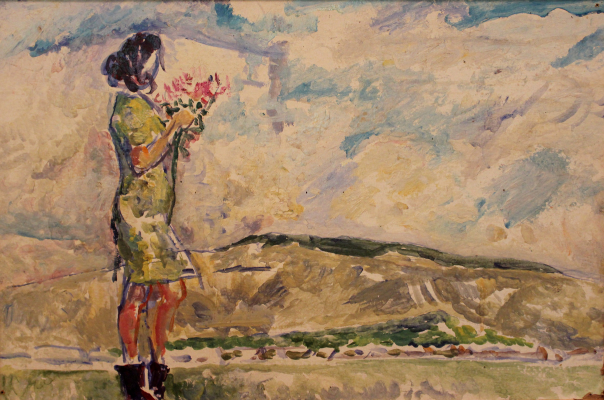 Victor Fedorovich Chudin. Summer wind